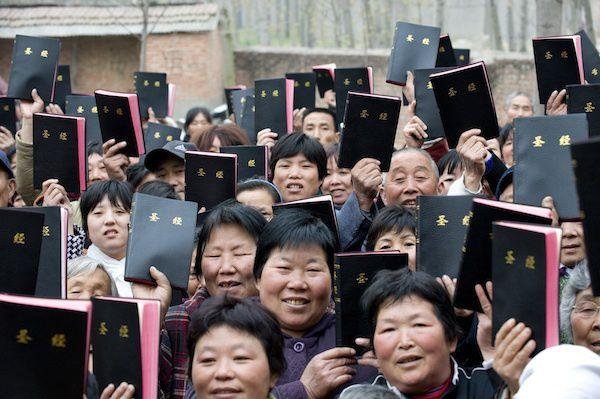 Détenir de la littérature chrétienne est à présent un crime en Chine !