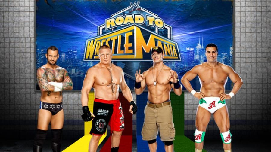 Où trouver les symboles : Catch - John Cena (WrestleMania)