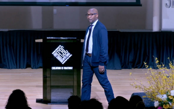 Michael A. Walrond Jr., leads the more than 10,000-member First Corinthian Baptist Church in Harlem, New York.