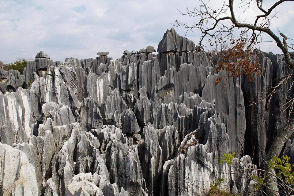 Getty - Stone Forest, Yunnan, China