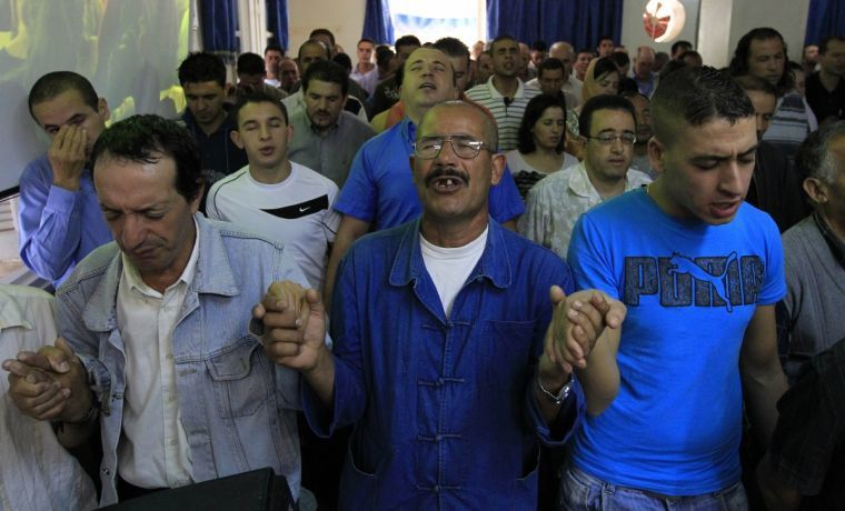 Under Algerian law all faiths are allowed to practise if they meet certain conditions, but proselytising is illegal.