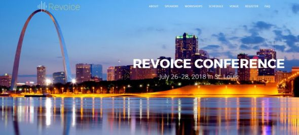 (Screenshot: revoice.us)The first-ever Revoice Conference, scheduled for July 26-28, 2018 at Memorial Presbyterian Church in St. Louis, Missouri.
