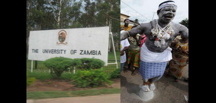 Grâce à l'UNESCO, L'université de Zambie va enseigner l'art de la sorcellerie aux étudiants