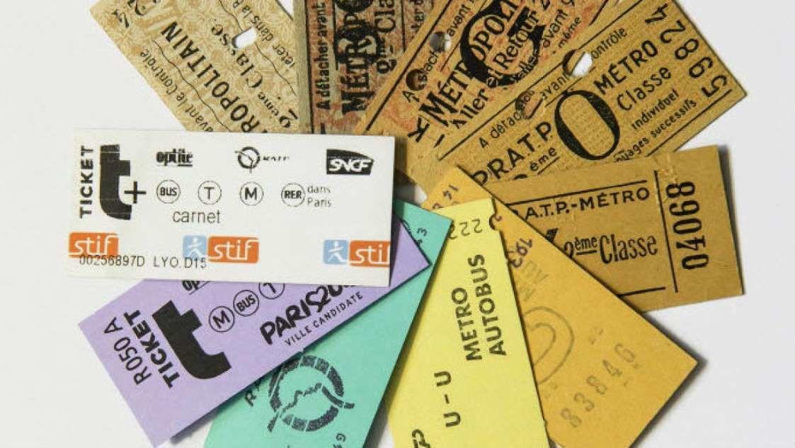 © RATP Depuis la création du métro, le ticket a connu de nombreuses transformations.