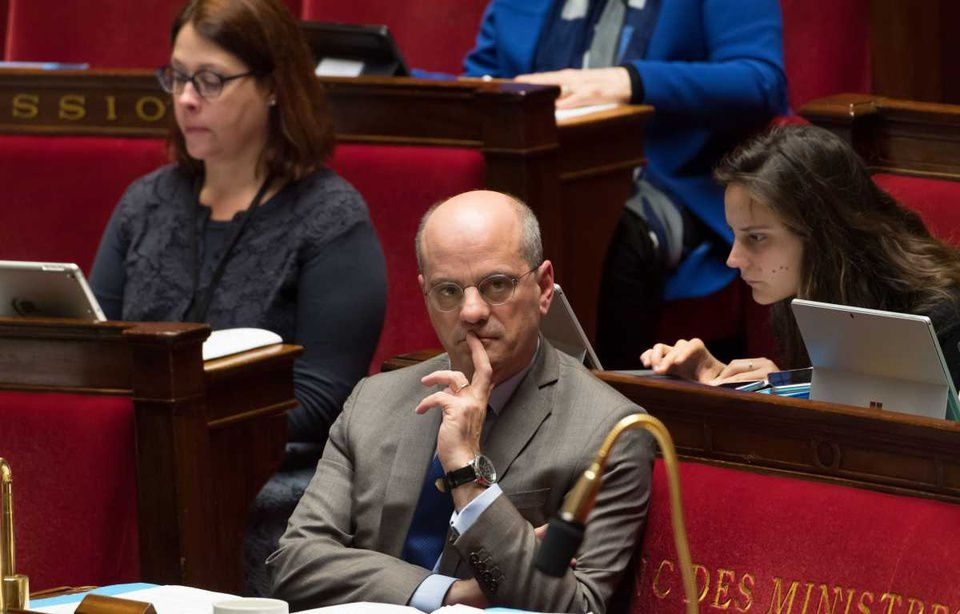 Jean-Michel Blanquer, ministre de l'Education nationale. — Jacques Witt/SIPA