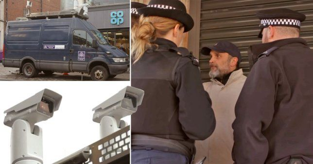 The man was fined £90 for pulling his jumper up over his chin and mouth (Picture: BBC Click)