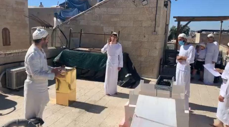 Troisième Temple de Jérusalem : la formation des futurs prêtres qui officieront dans le 3e Temple se poursuit