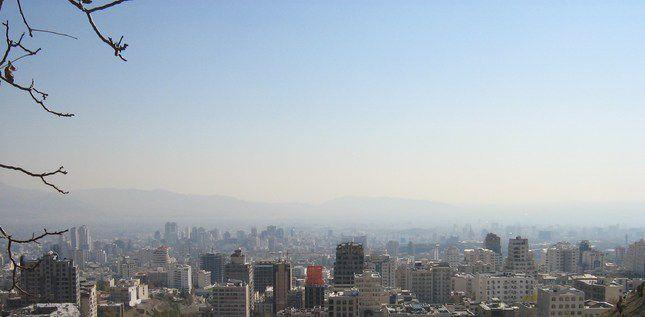 Vue de Téhéran, capitale de l'Iran