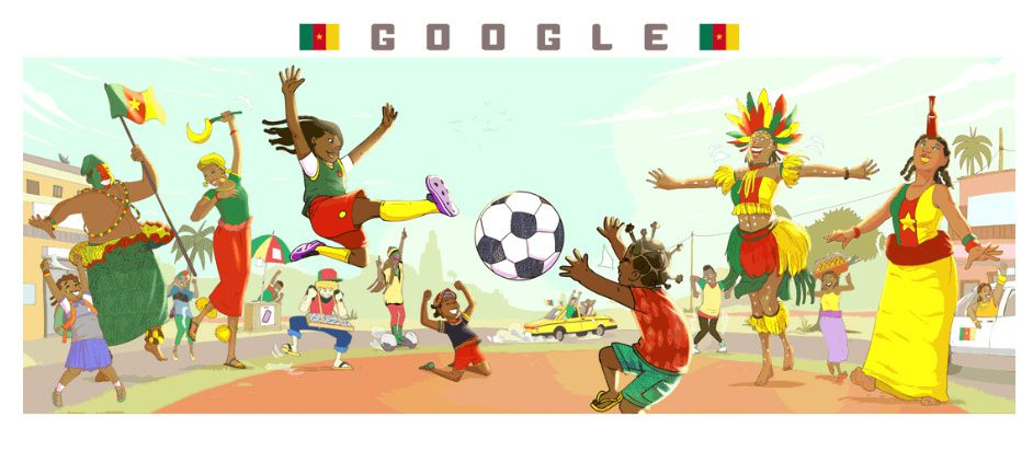 Doodle for Google for Cameroon WWC2019