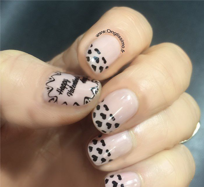Nail art Saint Valentin by Onglissimo France