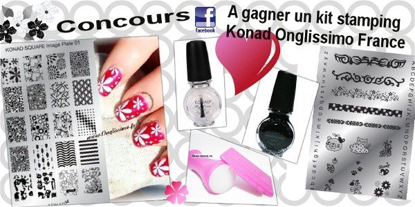 stamping, plaque stamping,vernis, vernis stamping, konad france, onglissimo france, nailart, manucure,