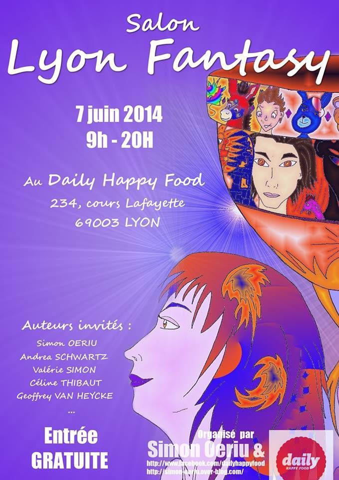 Salon Lyon Fantasy le samedi 7 juin 2014: la parole aux auteurs.