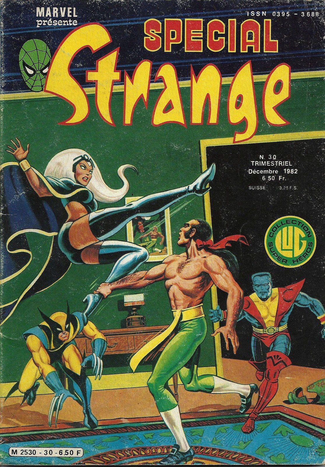 Strange,Spécial Strange, Mustang,Nova