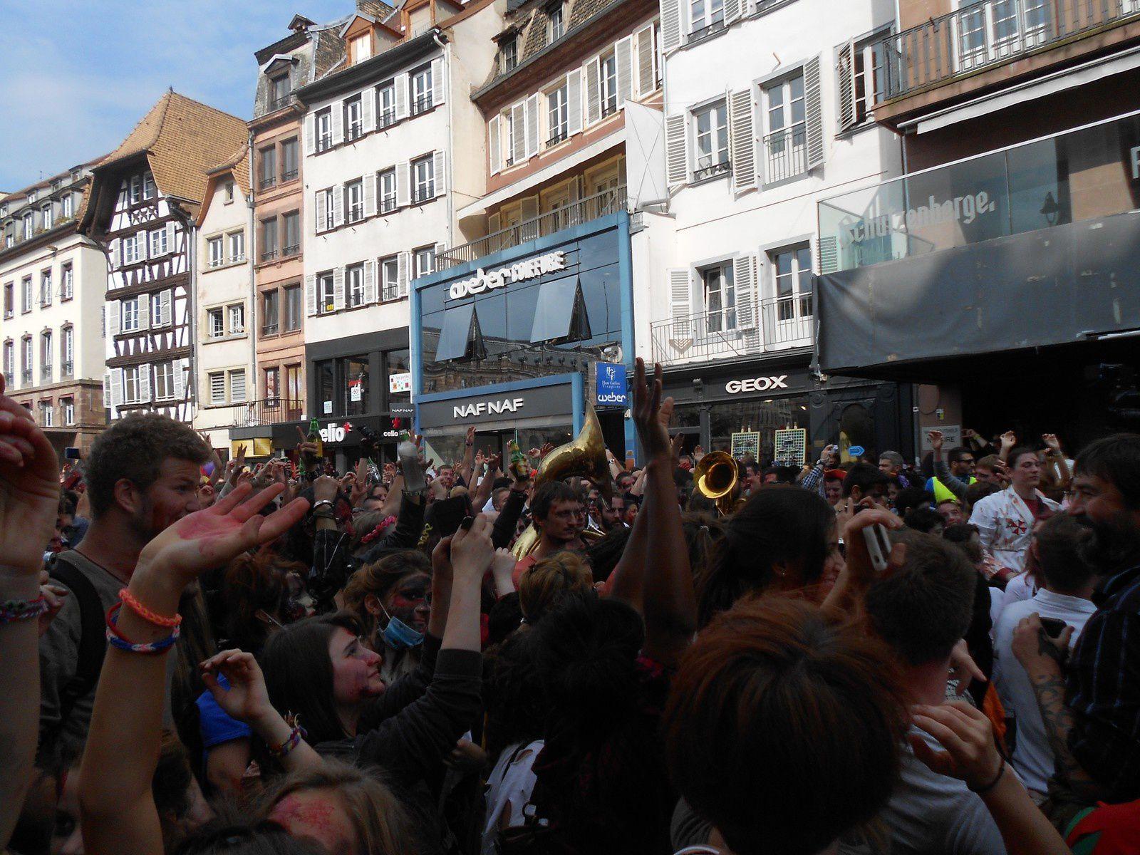 Zombie Walk Strasbourg 2014