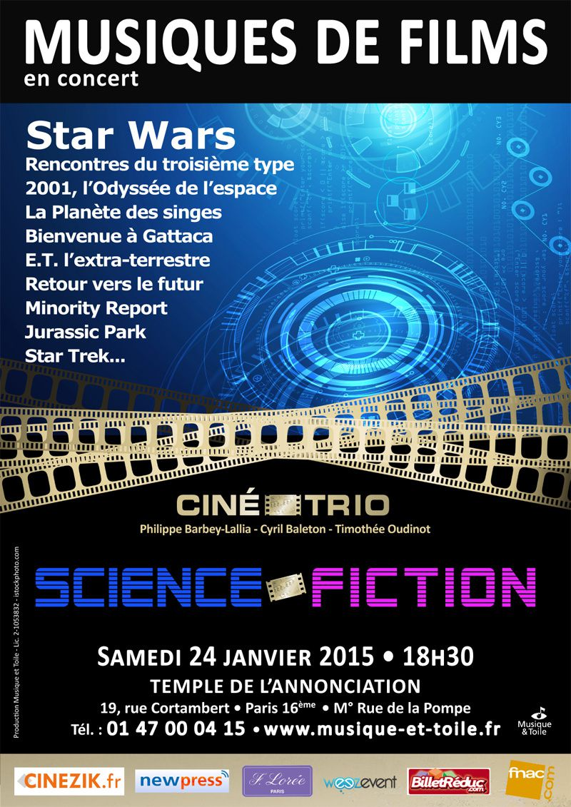 CINE-TRIO – Concert #15 SCIENCE-FICTION