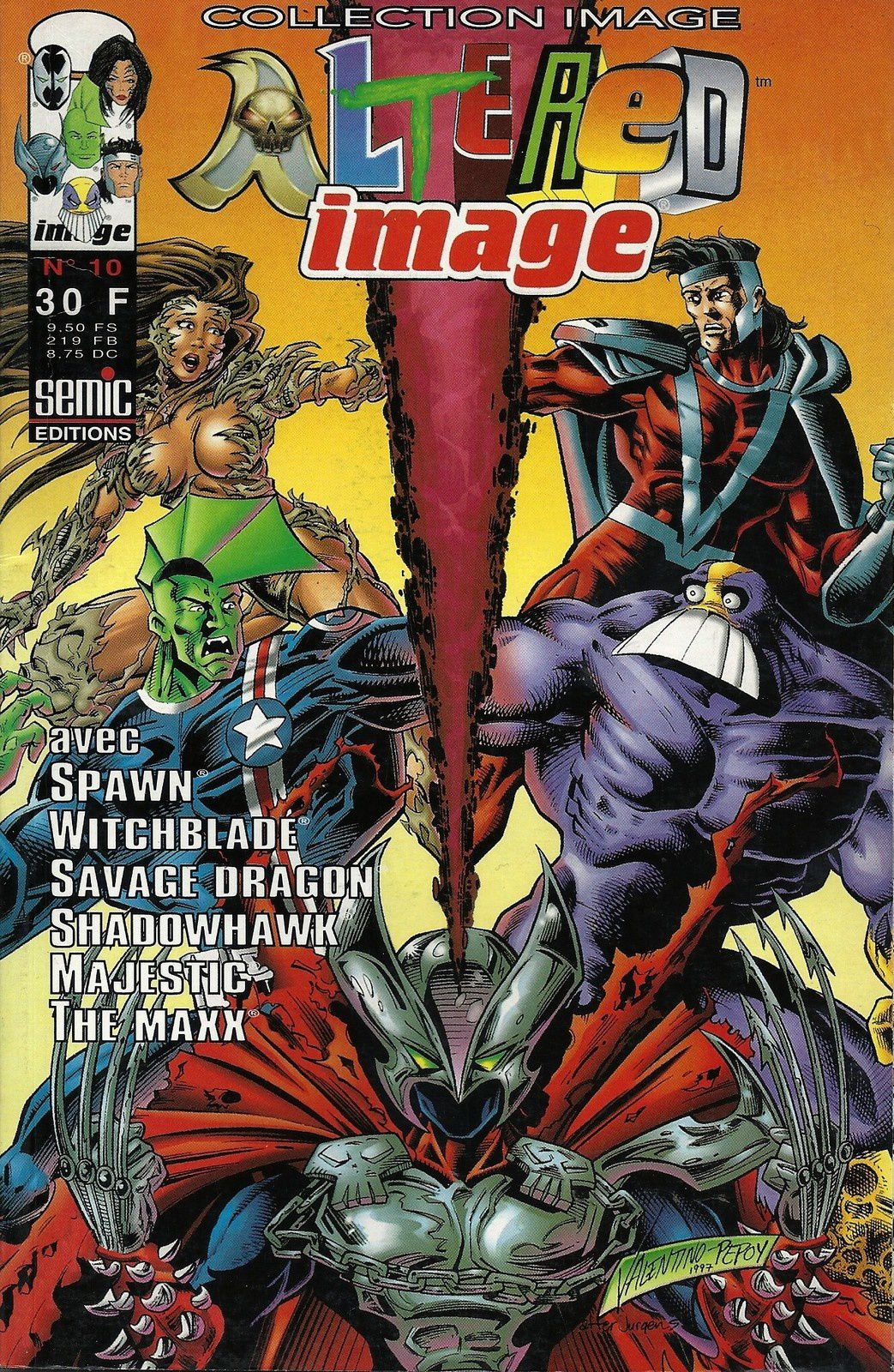 Image Comics Editions
