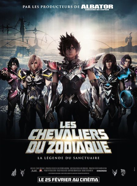 Avant Premiere Nationale Les Chevaliers du Zodiaque