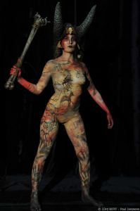 28e Body Painting Concours – Gagnants BIFFF 2015