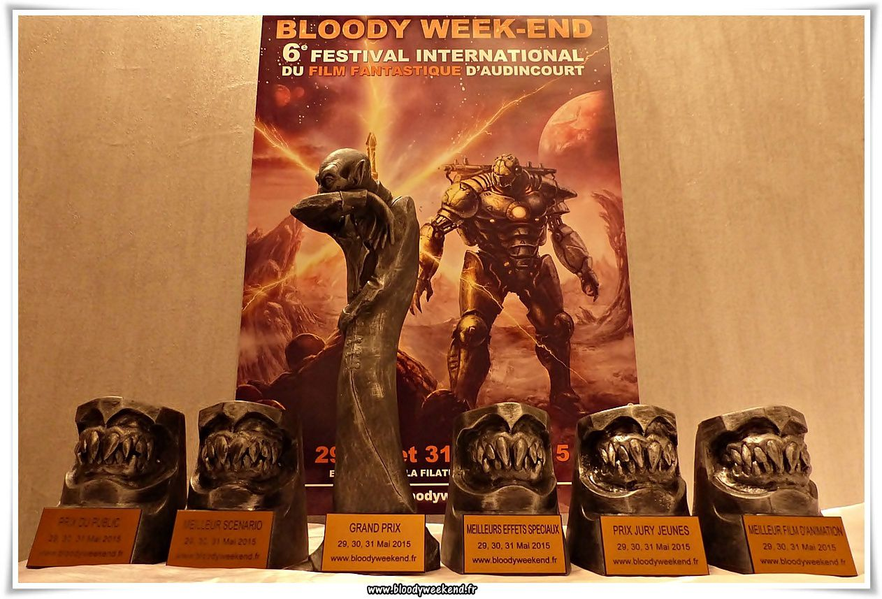 Bloody Week-end 2015 courts-métrages session 1