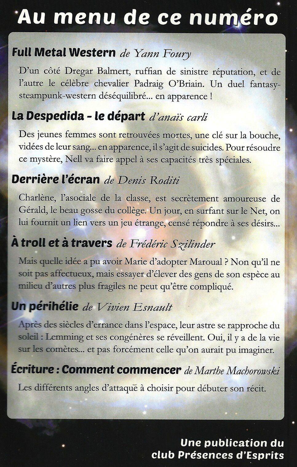 AOC N° 41 Aventures Oniriques et Compagnie