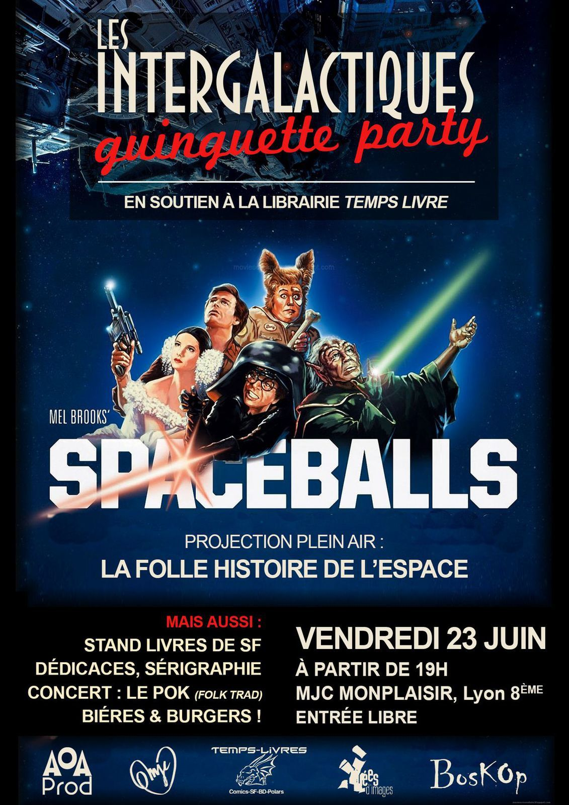 Intergalactiques : Guinguette Party