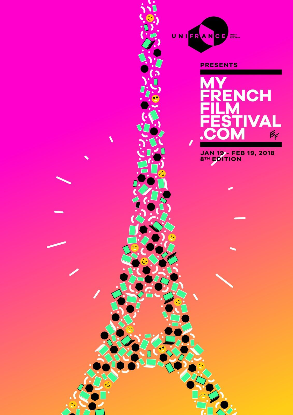 MyFrenchFilmFestival, 8e édition