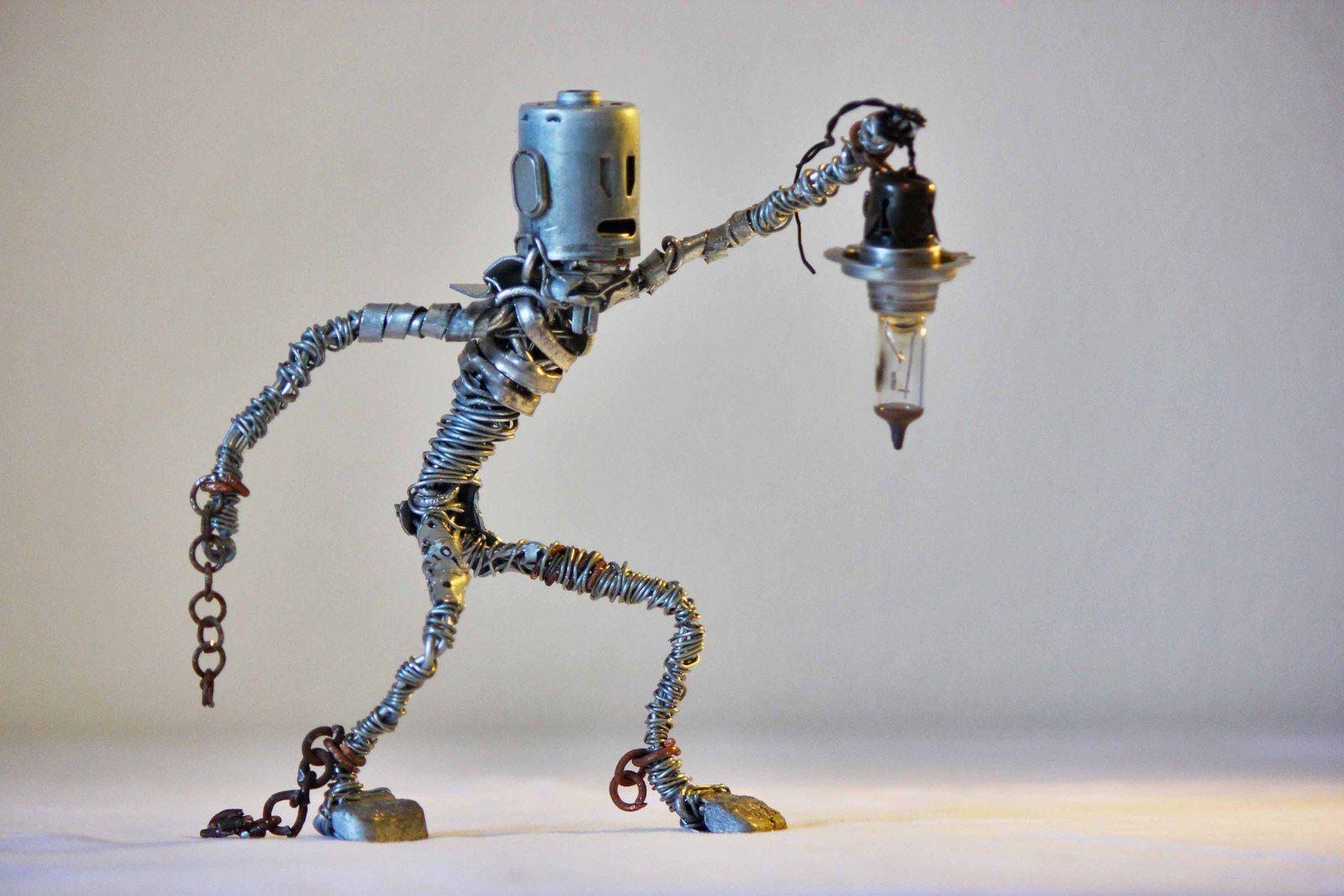 Entretien Adrien Vinet sculpteur