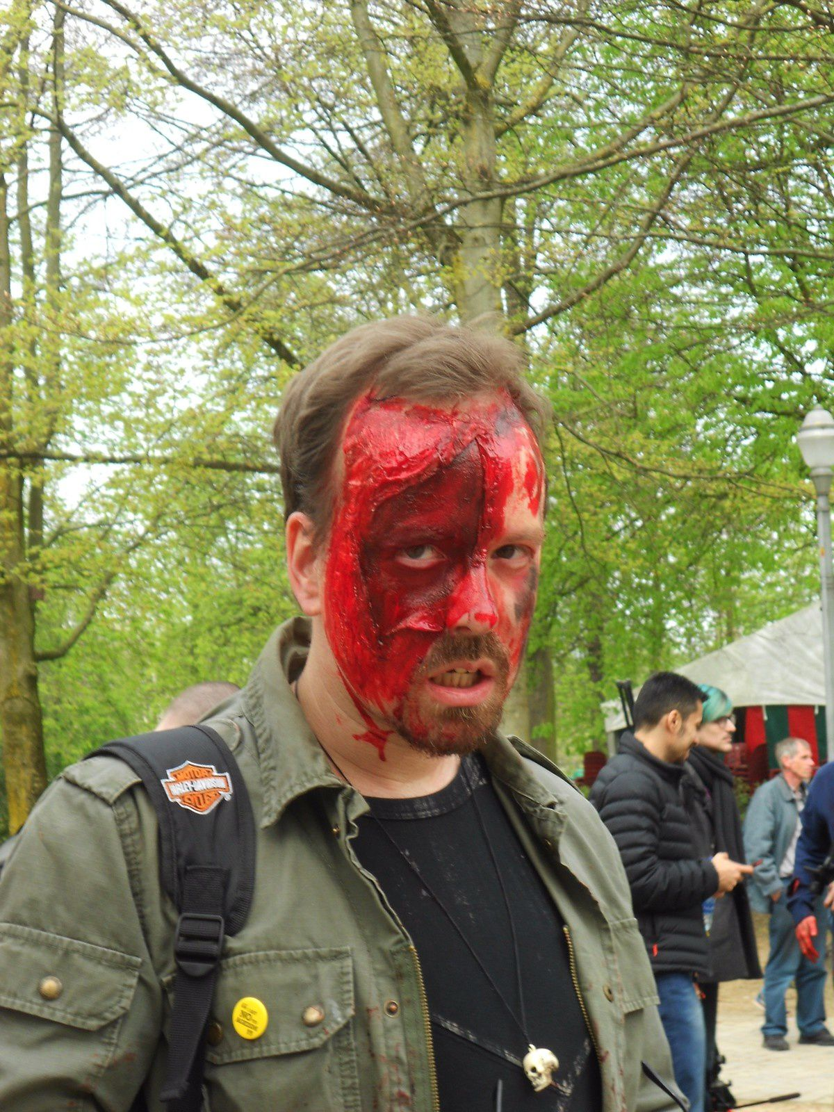 Divers zombies et Cosplay