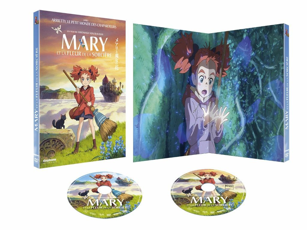 Mary et la fleur de la Sorcière Version DVD Collectors