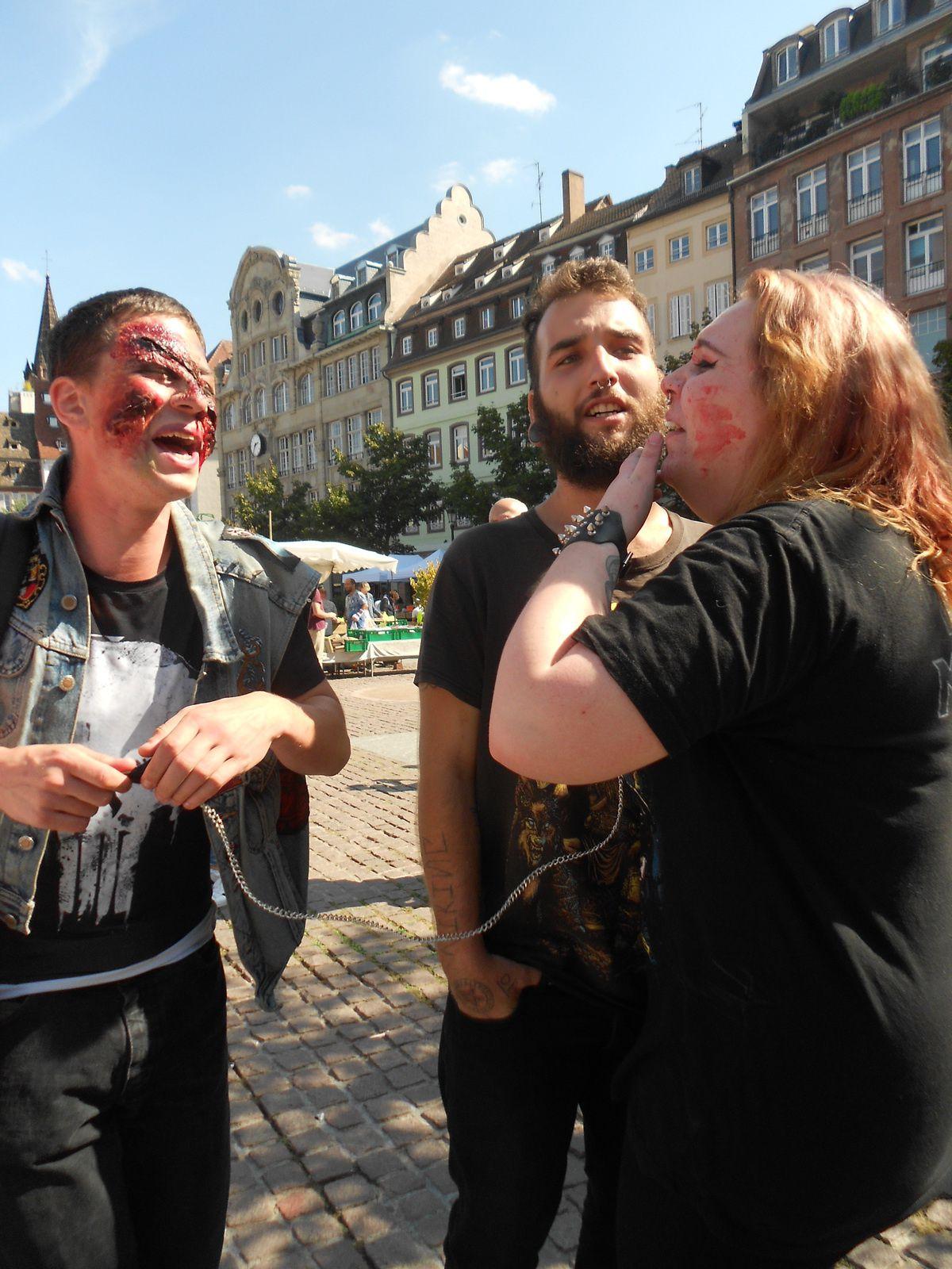 Zombie Walk Strasbourg 2018…Le Retourrrrrrrrrrrrrrrrrrr