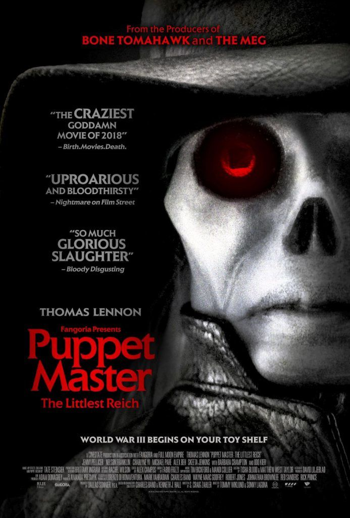 BIFFF 2019 One cut of the dead, Superlopez et Puppet Master: The Littlest Reich