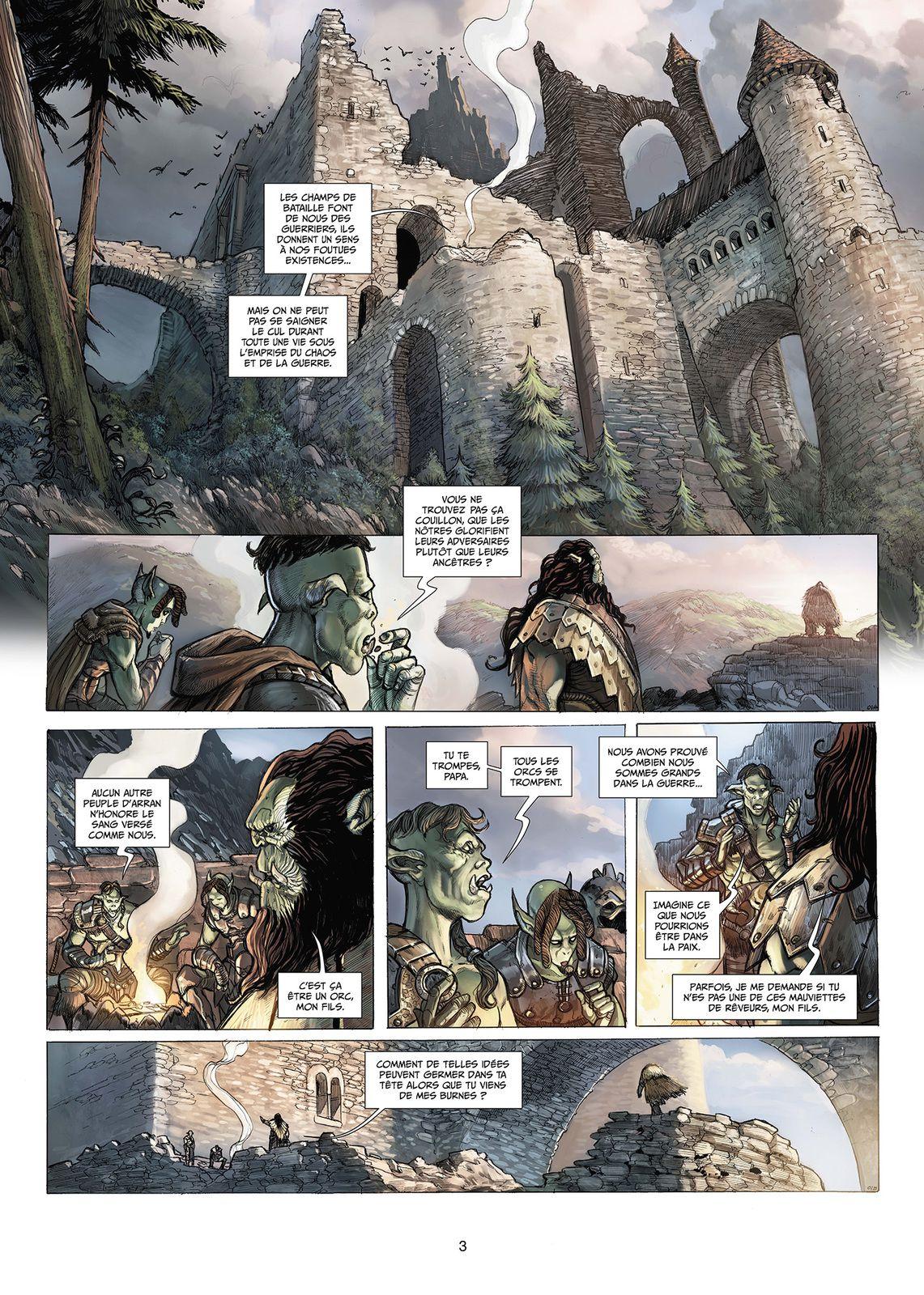 Orcs et Gobelins T09 – Silence