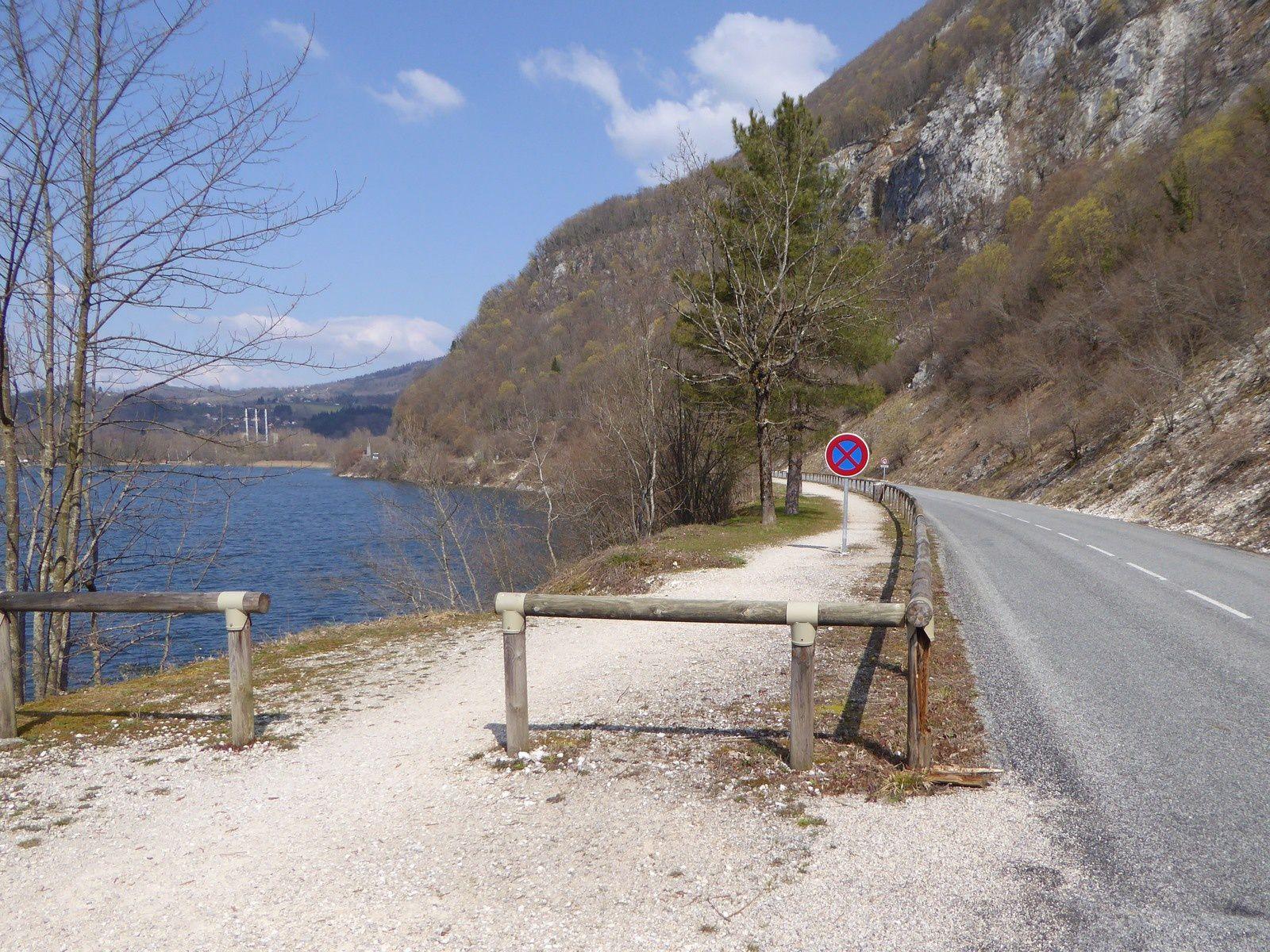 Autour de ViaRhôna - Lac d'Aiguebelette