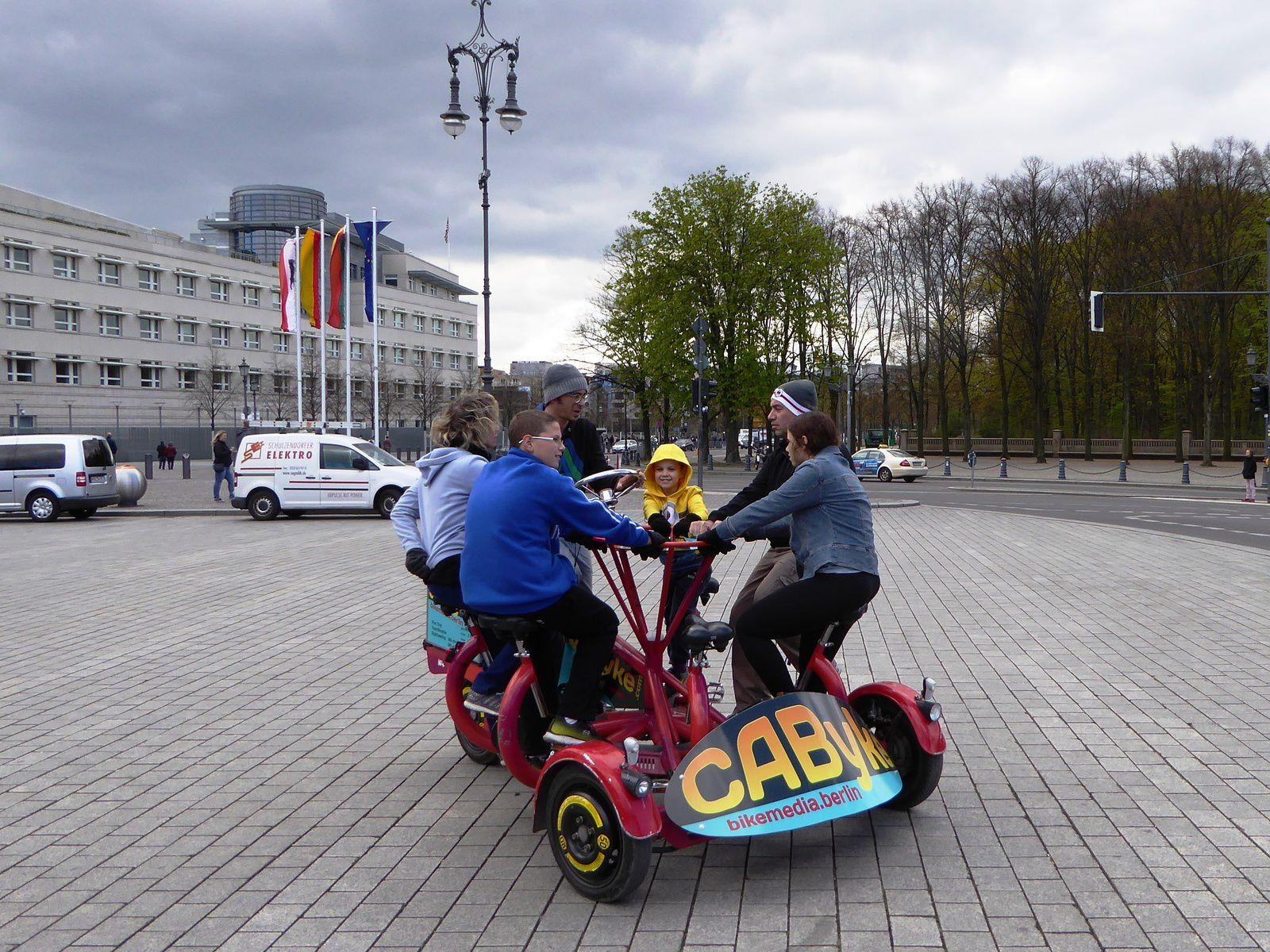 3 jours à Berlin à vélo