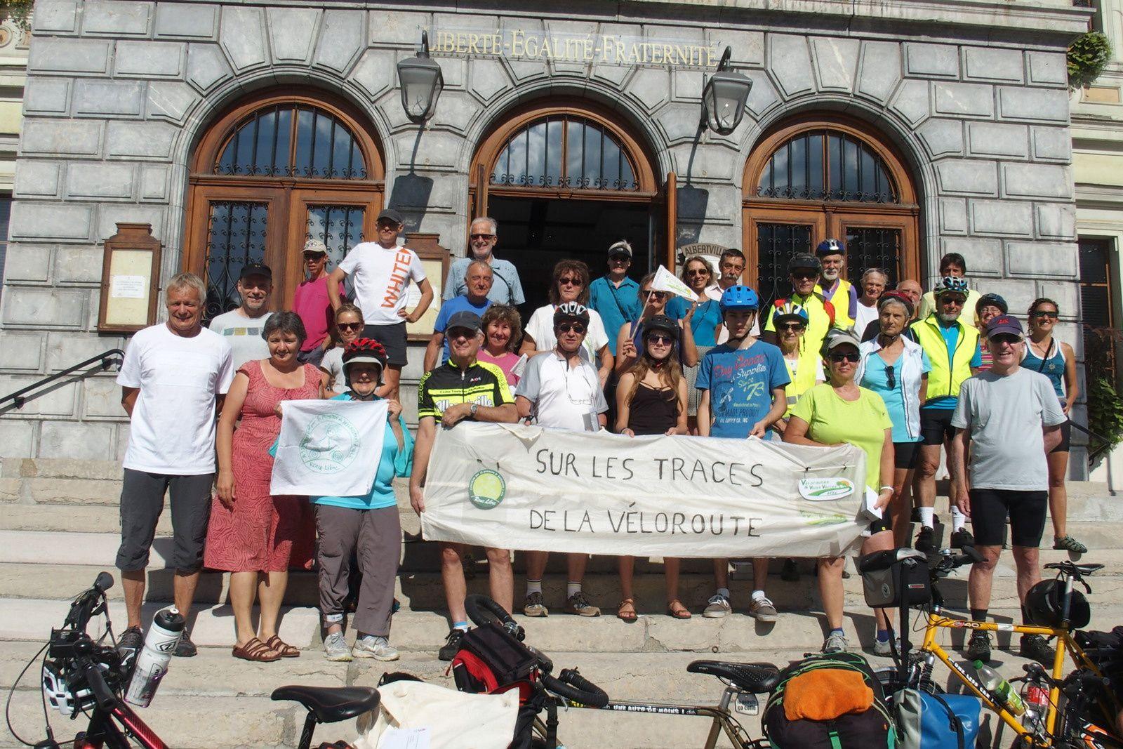 Annecy Valence véloroute des Péalpes V62 V63