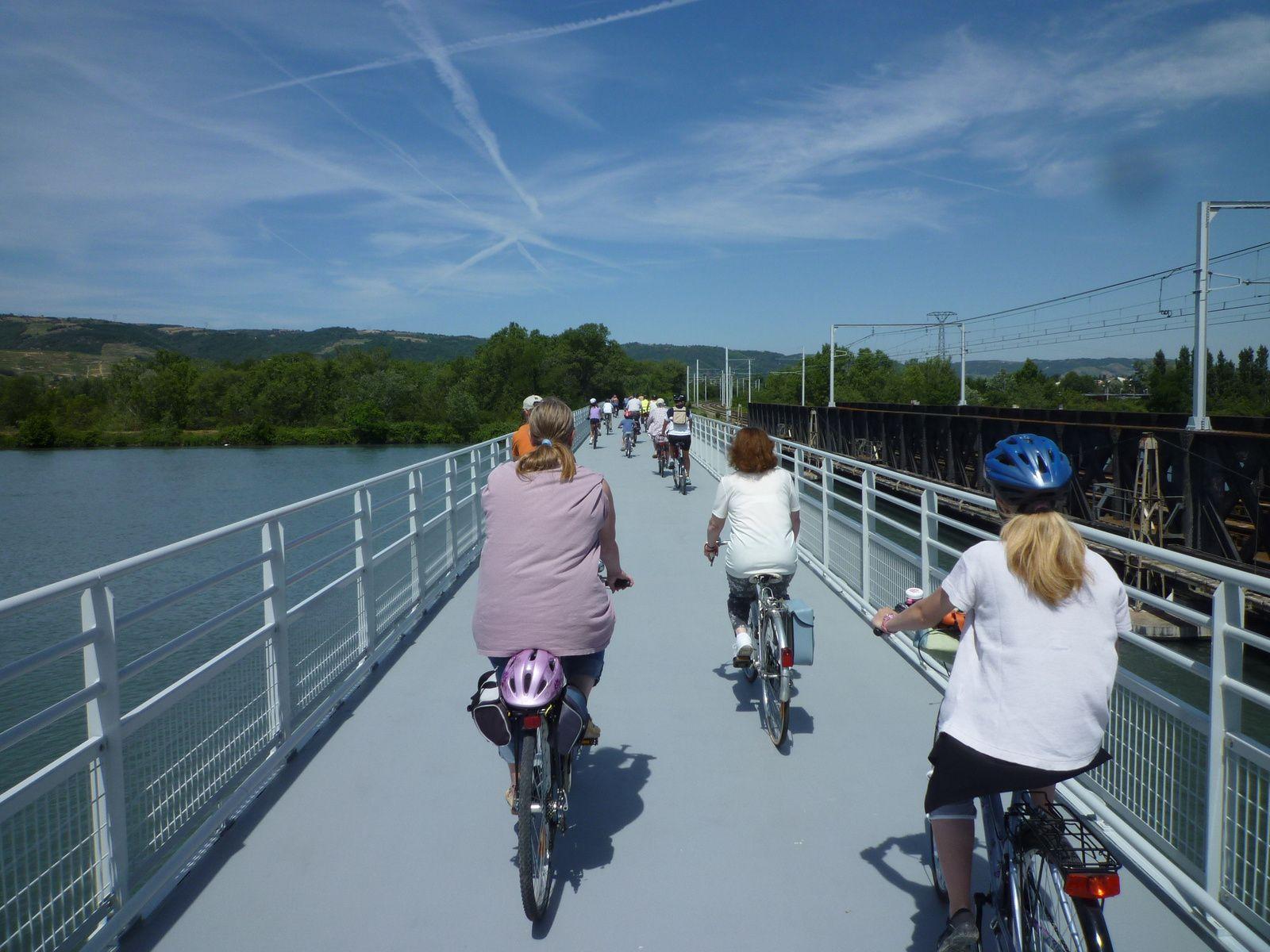 Fête du Vélo à Valence sur Via Rhôna