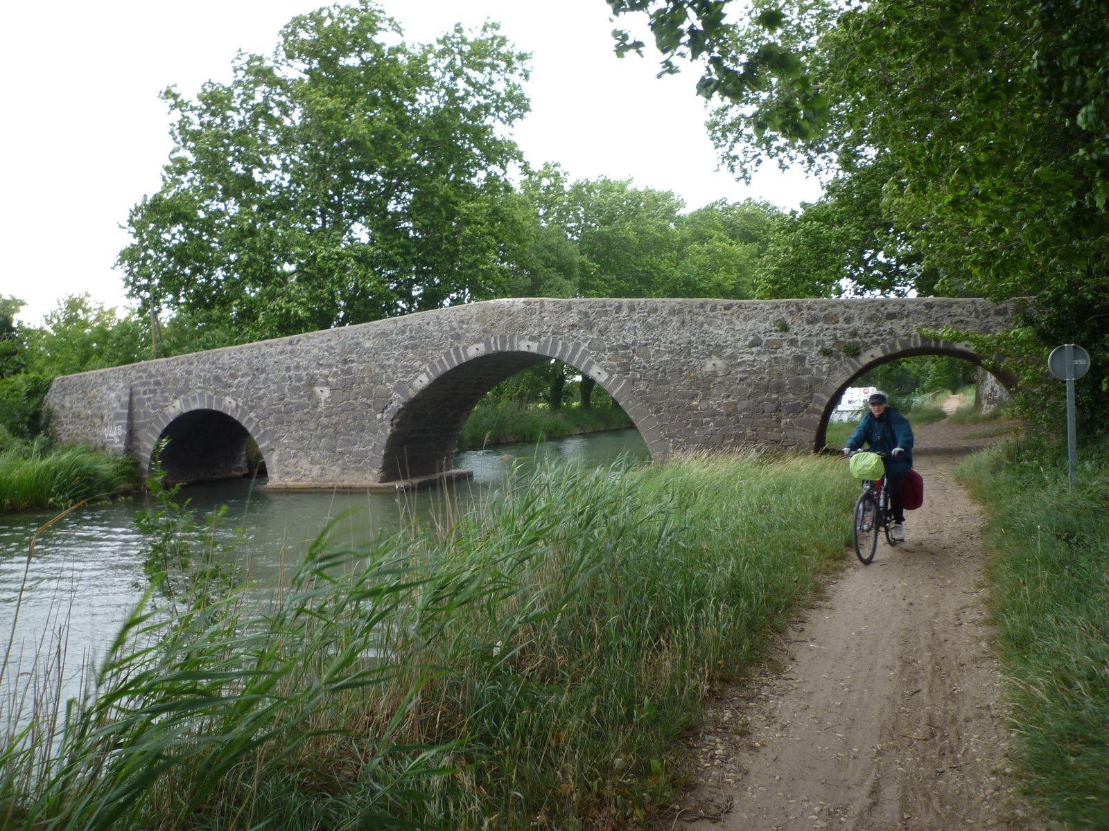 Le canal du Midi de Séte à Toulouse