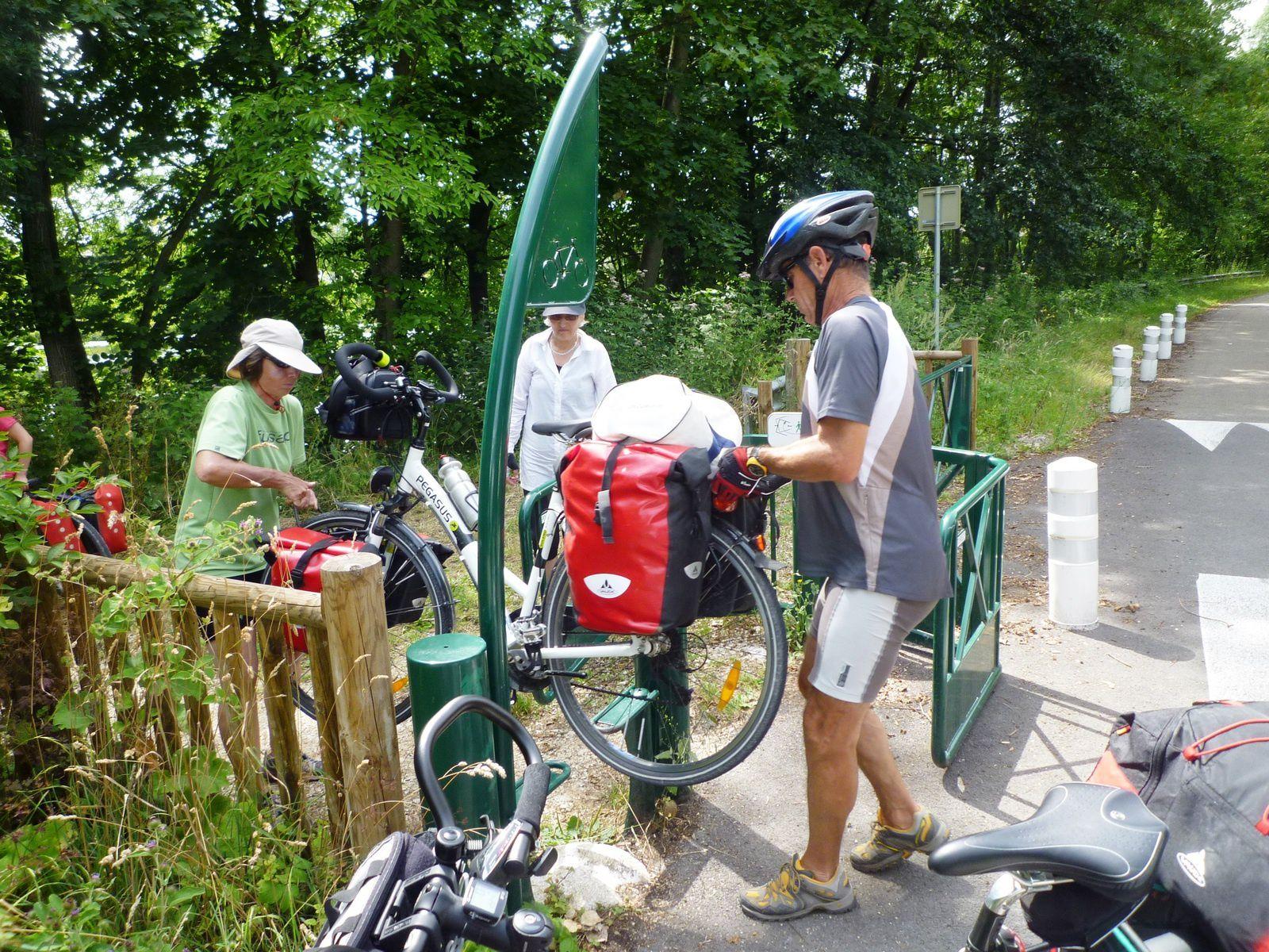 A Rovaltain: De nouvelles barrières pour encourager le vélo!