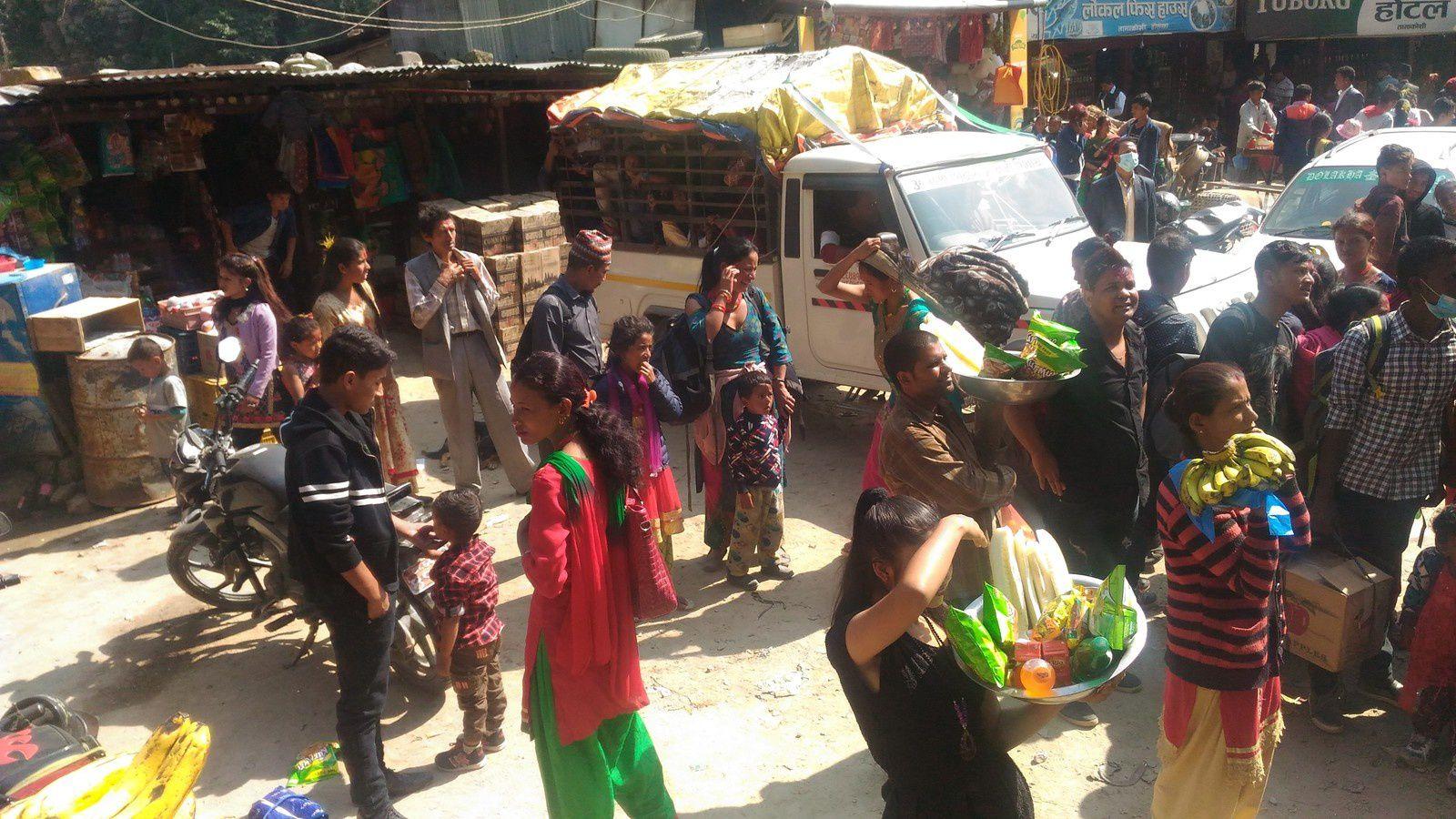 Jour7 ( 21 octobre 2018 ): de Kathmandou à Jiri