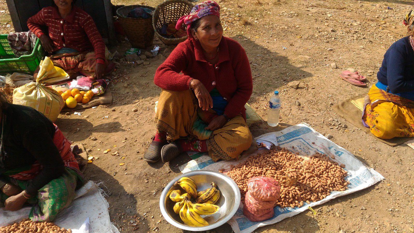 Scènes de vie au Népal
