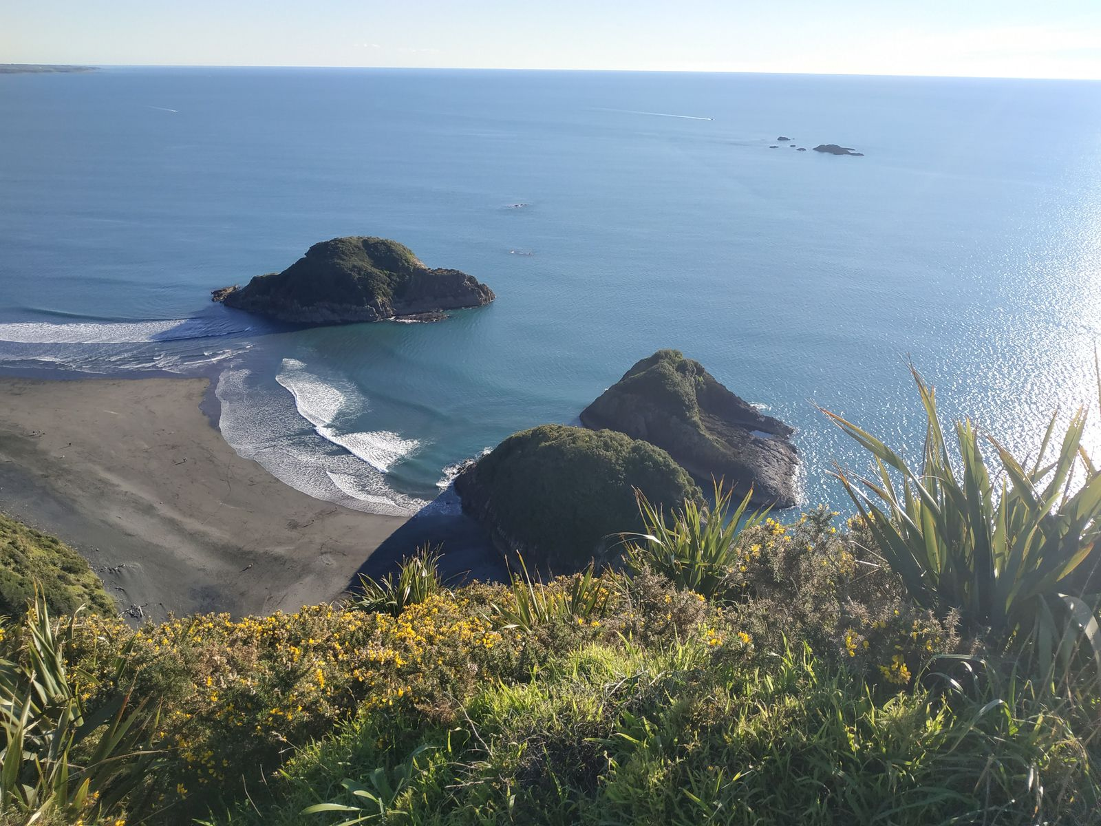 depuis le rock Paritutu à New Plymouth