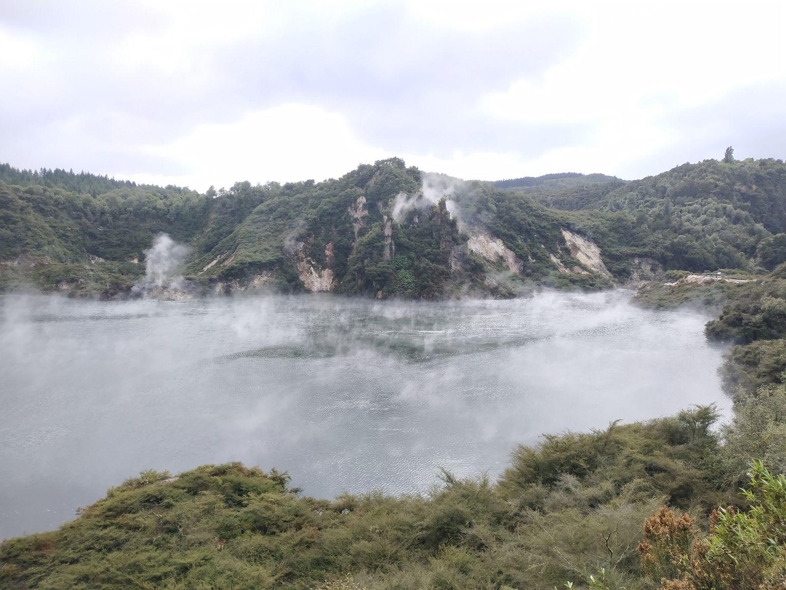 la vallée volcanique de waimangu