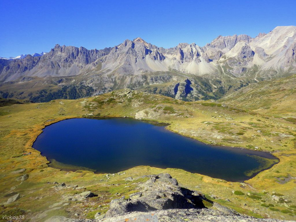 lac de la Cula - Altitude : 2489 m - Superficie 0.6 ha