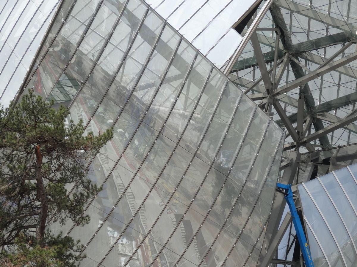 Fondation Vuitton  -  Franck Gehry (Bois de Boulogne)