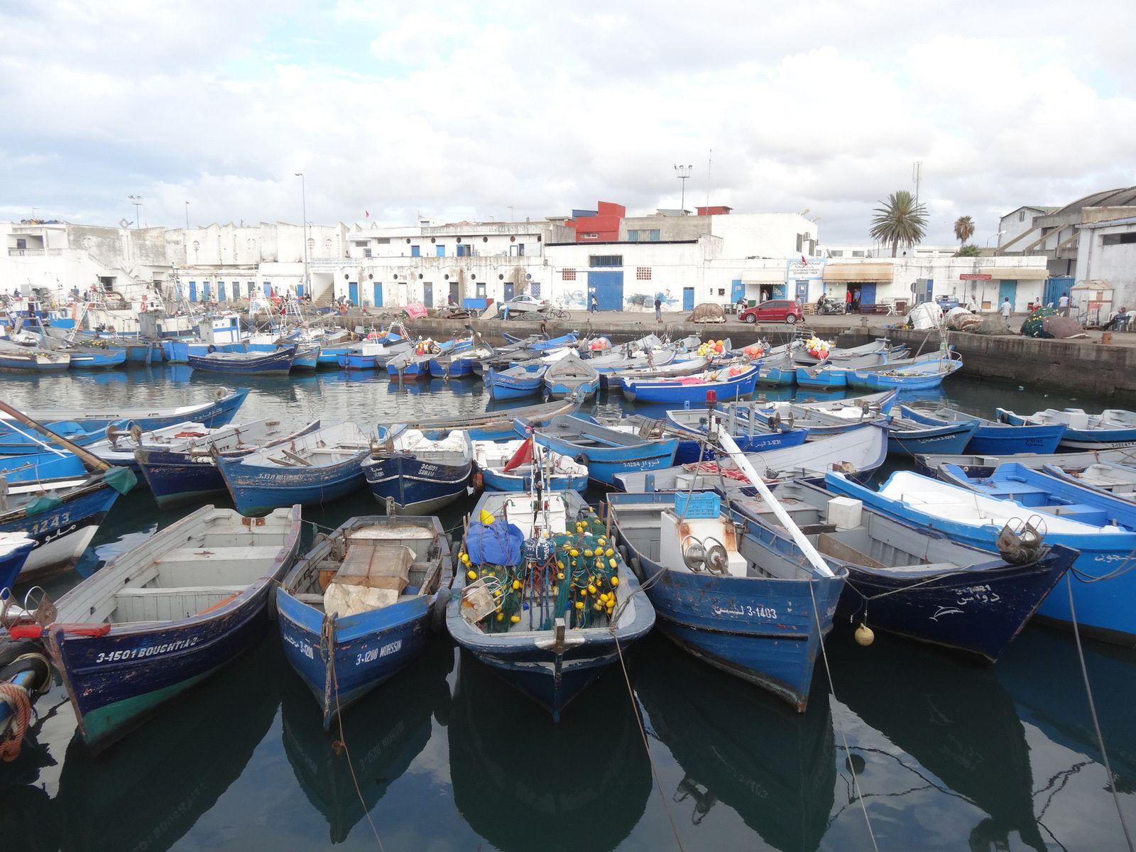 Mes dernières images du vieux port de pêche de Tanger