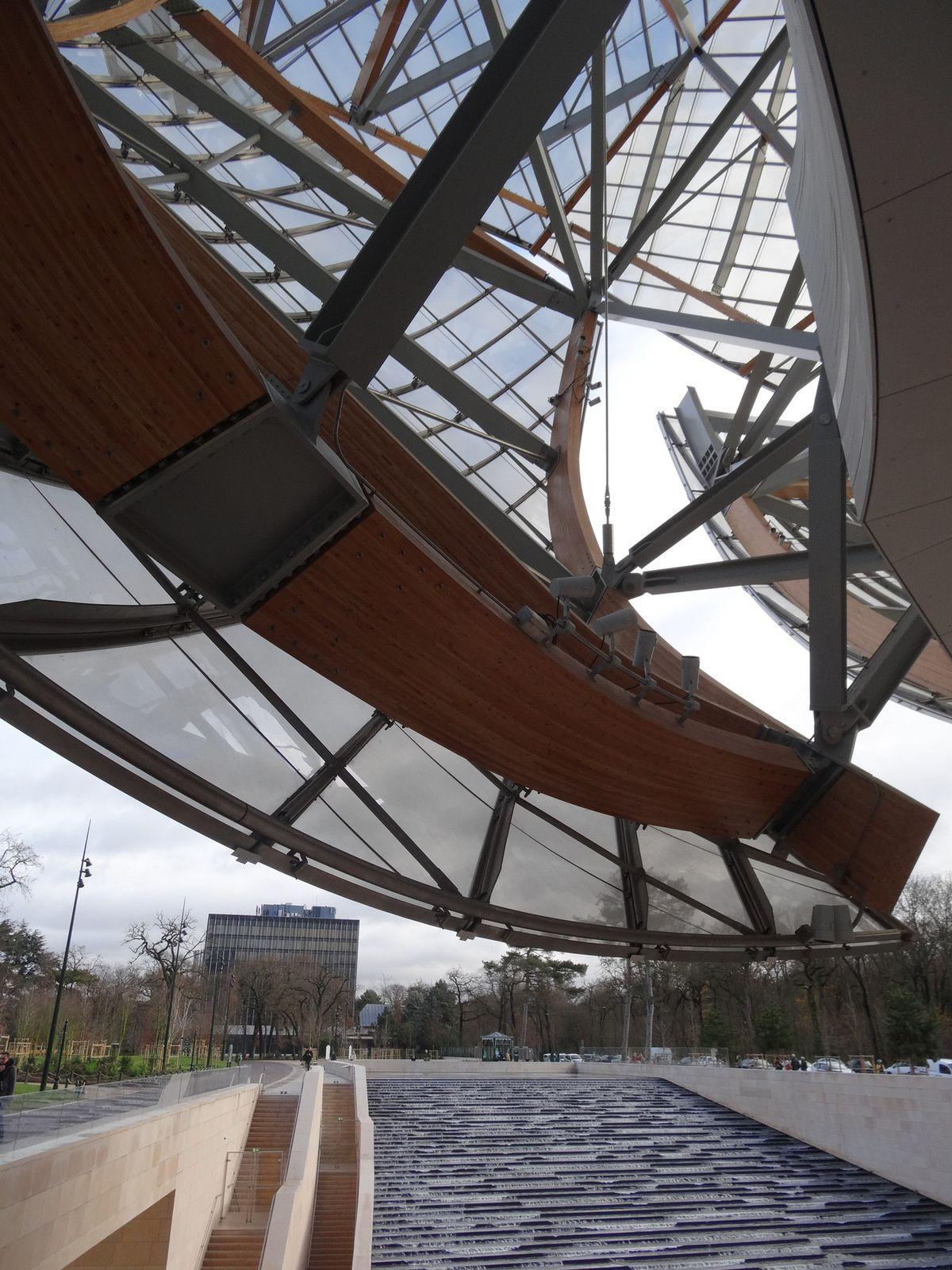 La Fondation VUITTON à Paris