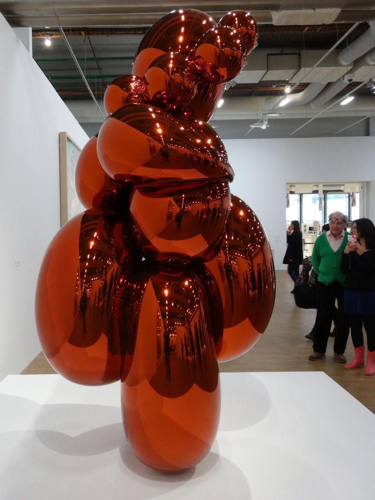 Jeff KOONS à Pompidou