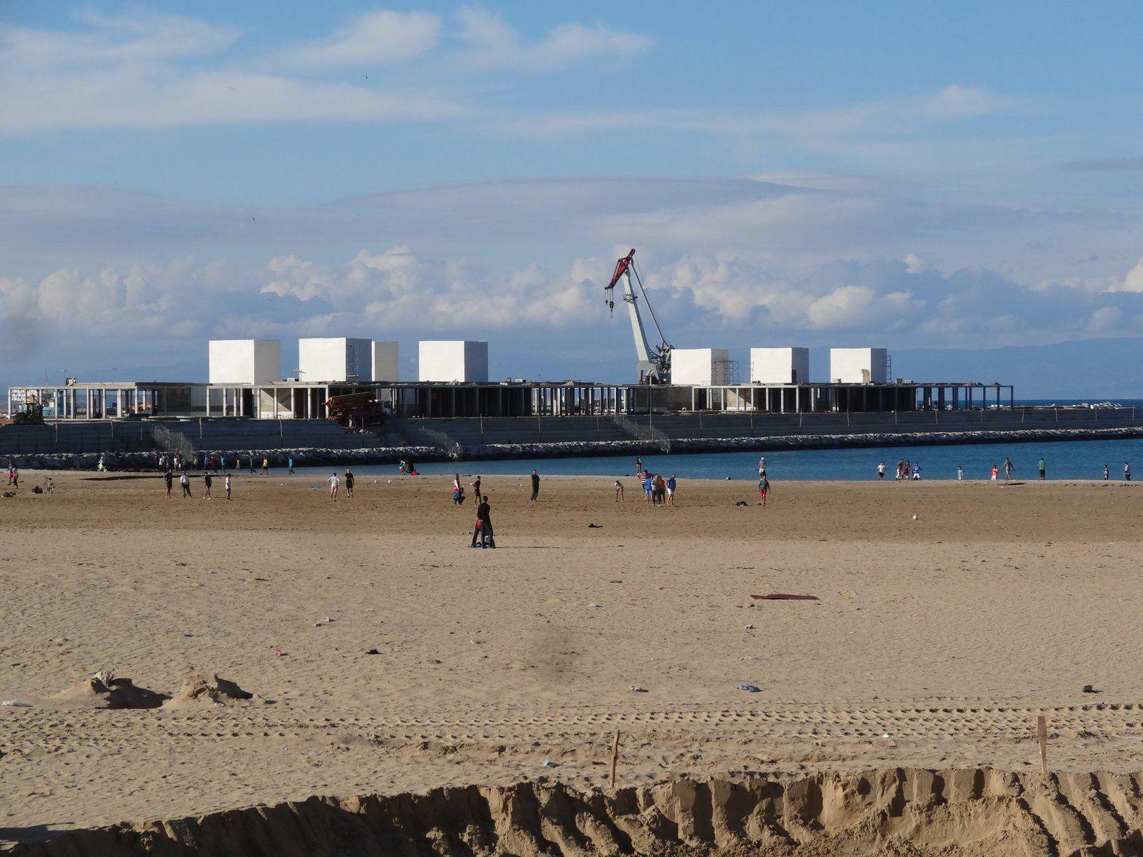 Tanger se transforme, Tanger en chantier (9 photos)