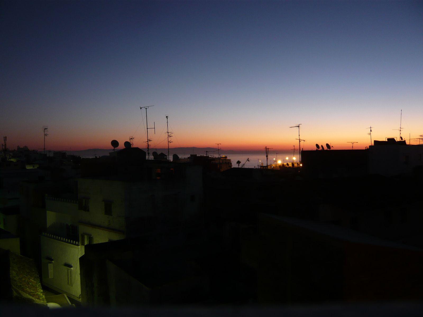 Tanger à l'aube