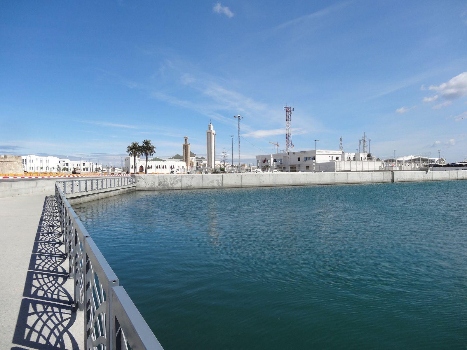 Le nouveau bassin de plaisance de Tanger